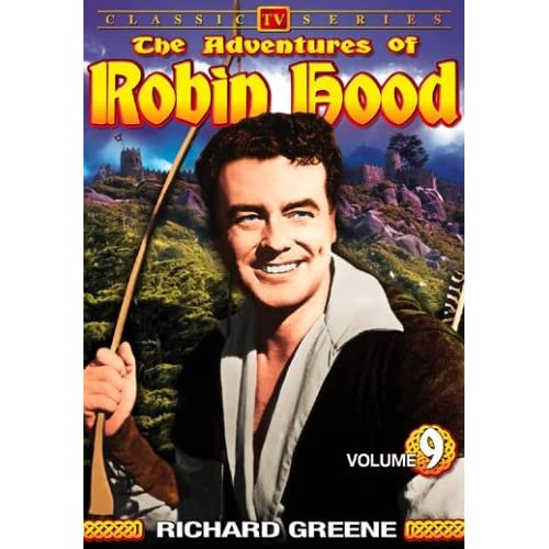 Image 0 of The Adventures Of Robin Hood Vol 9 On DVD With Richard Greene