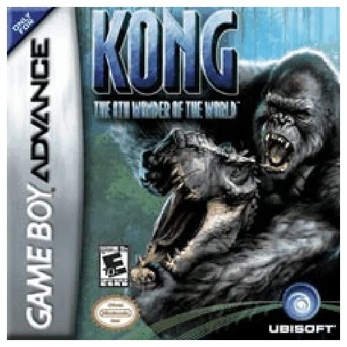 Image 0 of Kong: The 8th Wonder Of The World GBA For GBA Gameboy Advance