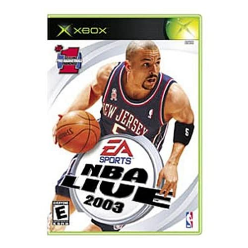 NBA Live 2003 Xbox For Xbox Original Basketball With Manual And Case