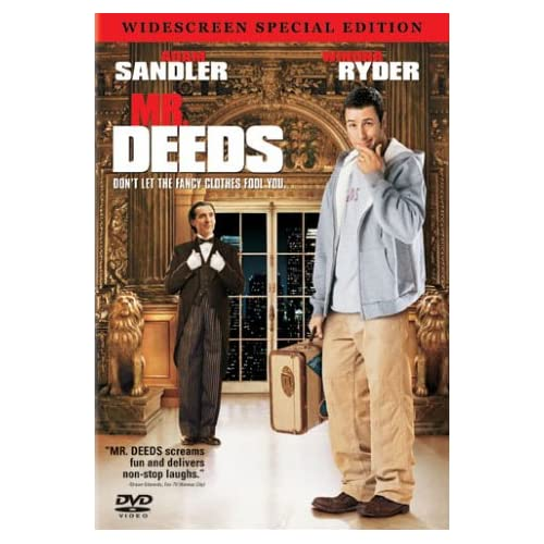 Image 0 of Mr Deeds Widescreen Special Edition On DVD With Jared Harris