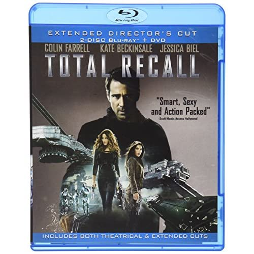 Image 0 of Total Recall 4 Disc Limited Edition Extended Director's Cut On Blu-Ray