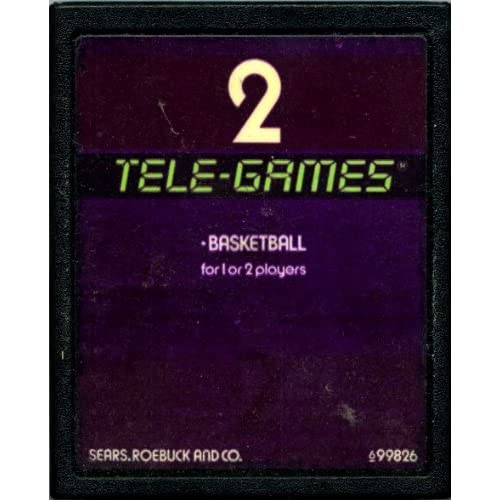 2 Tele-Games Basketball For Atari Vintage