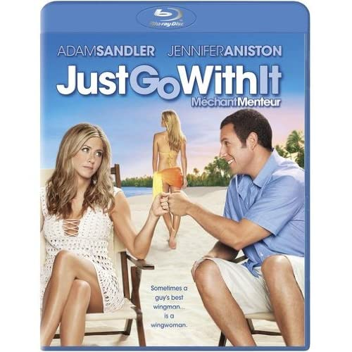 Just Go With It 2011 Adam Sandler Jennifer Aniston On Blu-Ray