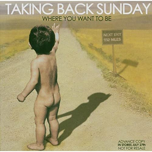 Image 0 of Where You Want To Be By Taking Back Sunday Performer On Audio CD Album