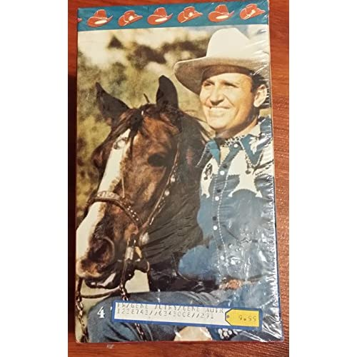 Image 0 of Gene Autry 4-Pack On VHS