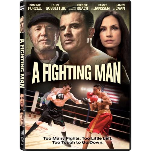 Image 0 of A Fighting Man On DVD With Dominic Purcell Drama