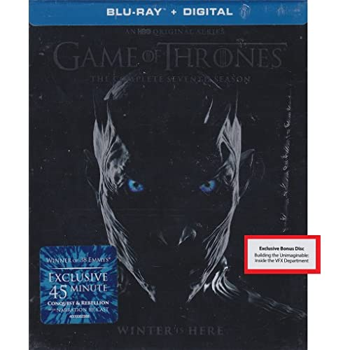 Game Of Thrones: The Complete Seventh Season Blu-Ray Digital With
