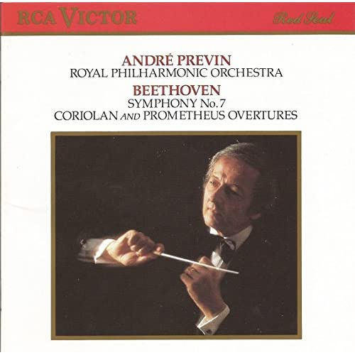 Image 0 of Beethoven: Symphony No 7/CORIOLAN And Prometheus Overtures By Ludwig Van Beethov