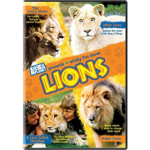 Image 0 of Animal Planet Lions On DVD