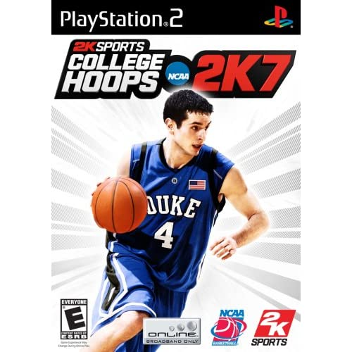 College Hoops 2K7 For PlayStation 2 PS2 Basketball