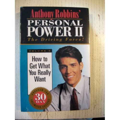 Image 0 of Personal Power 11-THE Driving Force How To Get What You Really Want 3 By Anthony