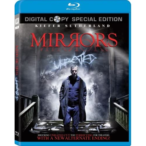 Image 0 of Mirrors Blu-Ray On Blu-Ray With Kiefer Sutherland