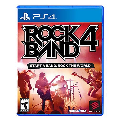 Image 0 of Rock Band 4 For PlayStation 4 PS4 Music
