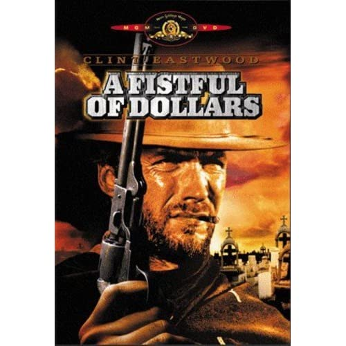 Image 0 of A Fistful Of Dollars On DVD With Clint Eastwood Westerns