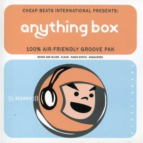 100 Percent Air Friendly Groove Pak By Anything Box On Audio CD Album 2002