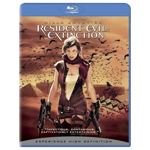 Image 0 of Resident Evil: Extinction Blu-Ray On Blu-Ray With Iain Glen Horror