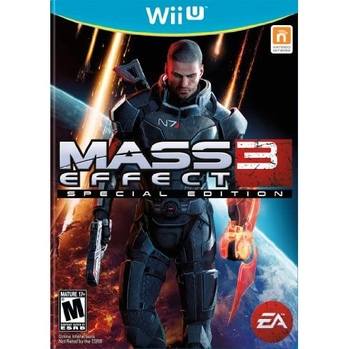 Mass Effect 3 For Wii U Fighting With Manual and Case