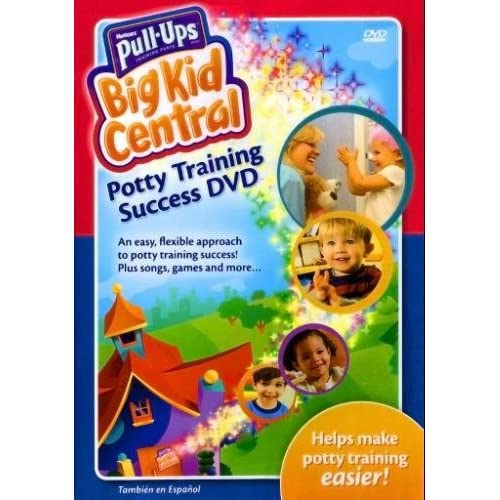 Pull-Ups Big Kid Central: Potty Training Success On DVD Computer Headphones For Kids