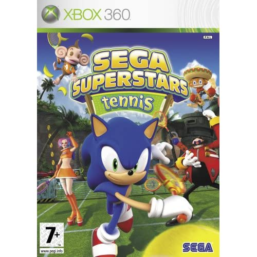 Image 0 of Xbox 360 Sega Superstars Tennis And Live Arcade Compilation Disc For