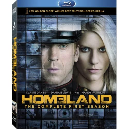 Homeland: Season 1 Blu-Ray On Blu-Ray With Damian Lewis Drama