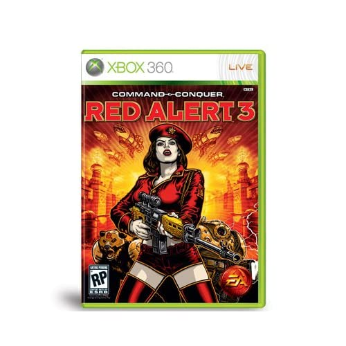 Strategy Games For Xbox 360 : Command conquer red alert for xbox strategy