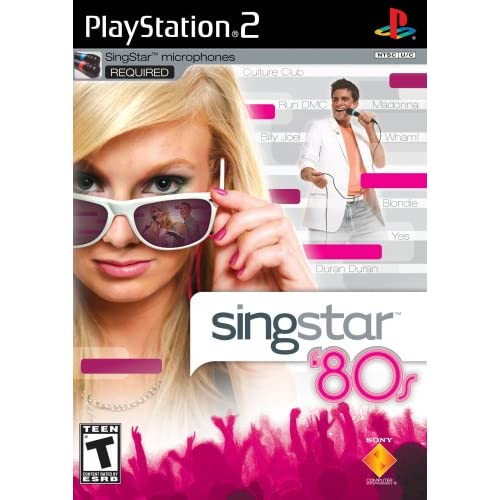Image 0 of Singstar 80'S Stand Alone For PlayStation 2 PS2 Music
