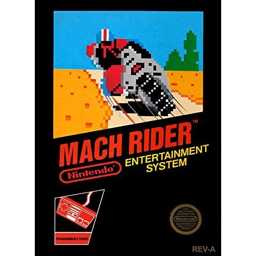 Image 0 of Mach Rider For Nintendo NES Vintage Racing