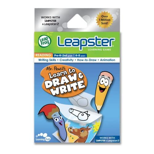 Image 0 of Leapfrog Leapster Learning Game Mr Pencil's Learn To Draw And Write For Leap Fro