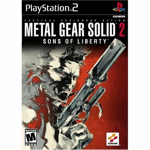 Metal Gear Solid 2 Sons Of Liberty For Playstation 2