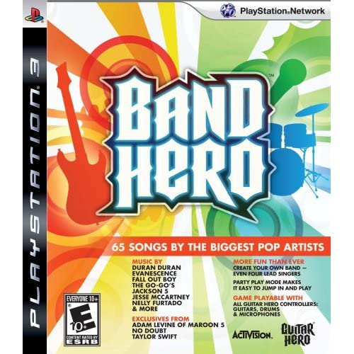 Image 0 of Band Hero Featuring Taylor Swift Stand Alone Software For PlayStation 3 PS3