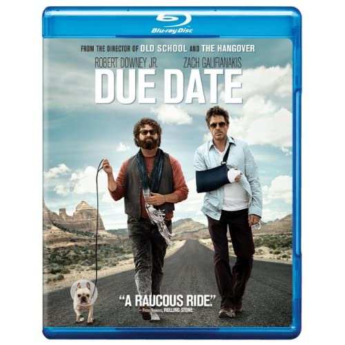 Image 0 of Due Date Blu-Ray On Blu-Ray With Robert Downey Jr