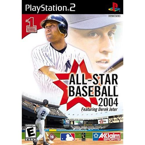 All-Star Baseball 2004 For PlayStation 2 PS2 With Manual And Case