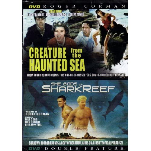 Image 0 of Creatures From The Haunted Sea/she Gods Of Shark Reef On DVD With Antony Carbone