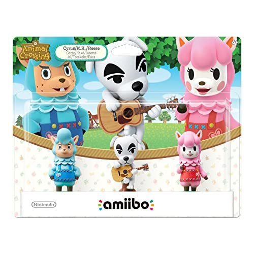 Animal Crossing Series 3-pack Amiibo Animal Crossing Series Figure
