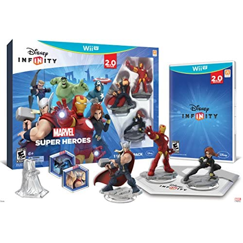 Disney Infinity: Marvel Super Heroes 2.0 Edition Video Game Starter Pack For Wii