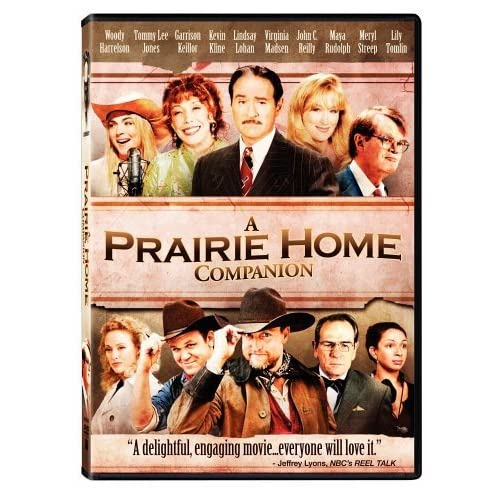 Image 0 of A Prairie Home Companion On DVD With Woody Harrelson Drama