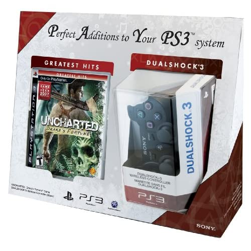 Image 0 of Uncharted: Drake's Fortune And Dualshock 3 Bundle PlayStation 3