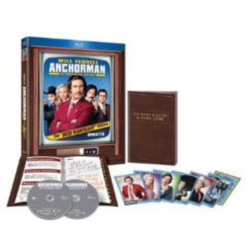 Image 0 of Anchorman: The Legend Of Ron Burgundy Unrated Rich Mahogany Edition Blu-Ray On B