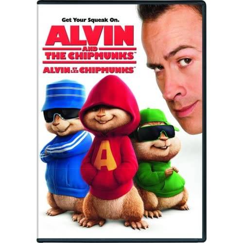 Image 0 of Alvin And The Chipmunks On DVD With Jason Lee