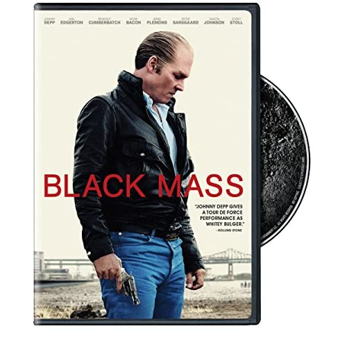 Image 0 of Black Mass On DVD With Johnny Depp Mystery