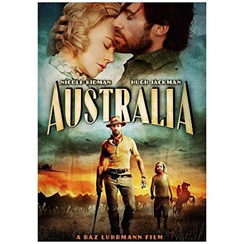 Image 0 of Australia Movie On DVD With Hugh Jackman