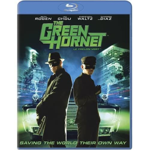 Green Hornet 2011 Seth Rogen Jay Chou Cameron Diaz On Blu-Ray