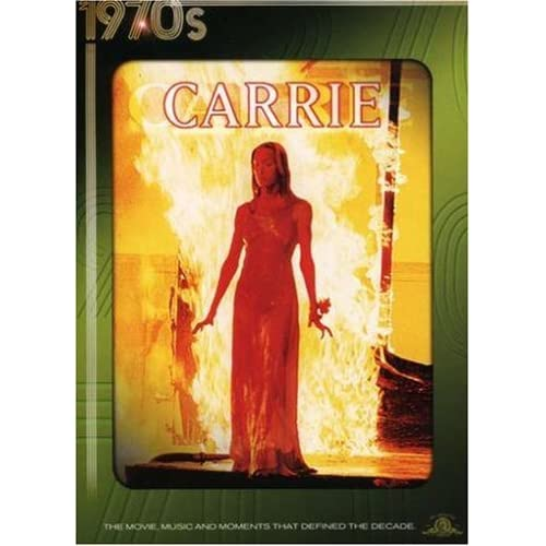 Image 0 of Carrie On DVD With Sissy Spacek Horror