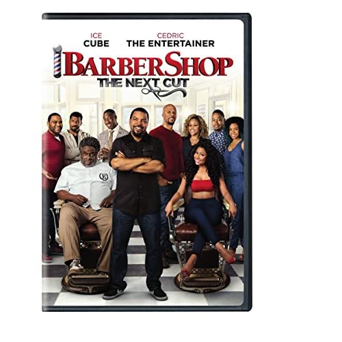 Image 0 of Barbershop: The Next Cut DVD On DVD With Ice Cube Comedy