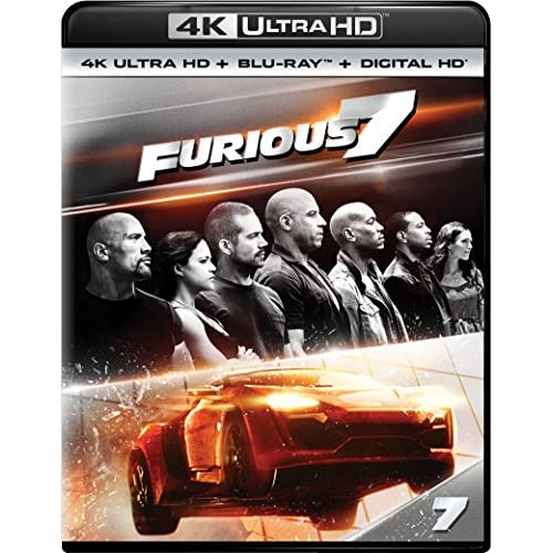 Image 0 of Furious 7 Blu-Ray On Blu-Ray With Vin Diesel