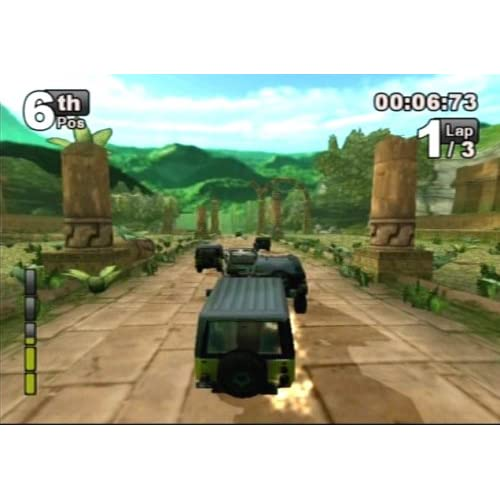 Jeep Thrills For PlayStation 2 PS2 Racing