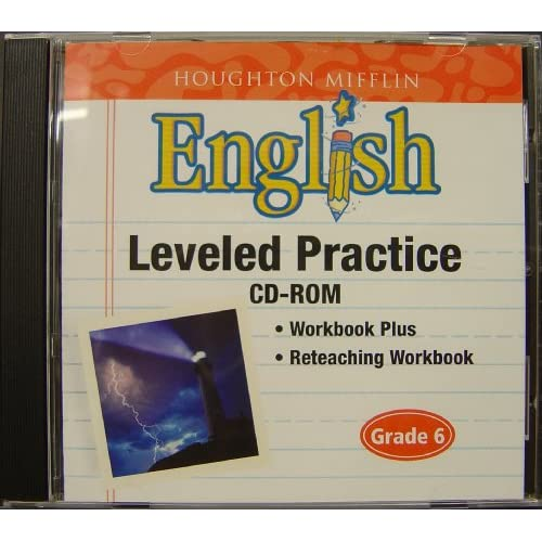 Image 0 of Houghton Mifflin English: Leveled Practice Cd-Rom Grade 6 Children: Reading Soft