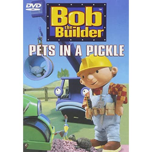 Image 0 of Bob The Builder Pets In A Pickle On DVD With Rob Rackstraw