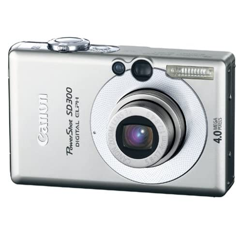 Canon Powershot SD300 4MP Digital Elph Camera With 3X Optical Zoom