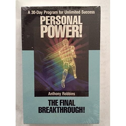 Image 0 of Personal Power Volume 10 Final Breakthrough By Anthony Robbins On